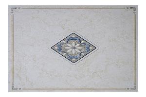蓝宝石图案印花铝扣板