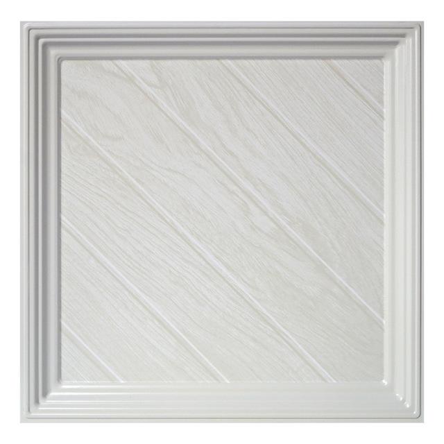 白橡木纹铝扣板