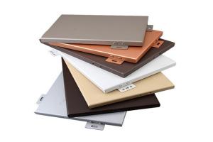 各种颜色的铝单板样板