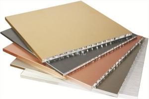 金色氧化蜂窝铝板