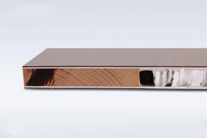 铝蜂窝板复合木皮