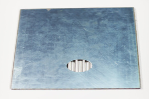瓦楞铝复合板背面细节