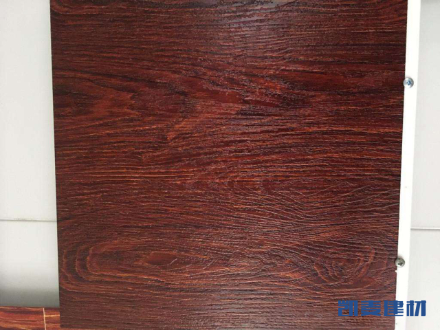 黑桃木色4D蚀刻木纹铝单板