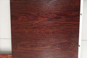 4D腐蚀木纹铝单板 腐蚀木纹铝板