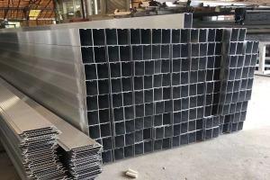 型材吊顶凹槽铝方通 彩色凹槽铝方通吊顶