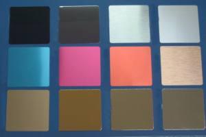 氧化铝板色板