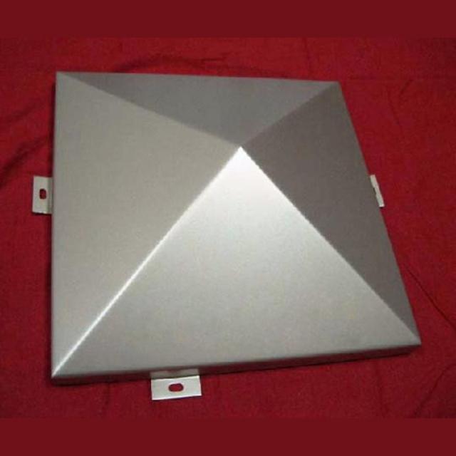 三角锥形外墙铝单板