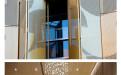 冲孔铝单板效果图