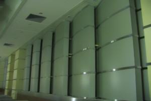 报告厅背景墙铝单板