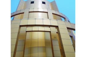 金色整体铝板幕墙