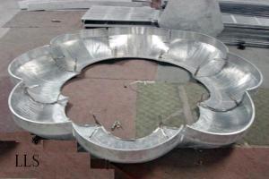 造型莲花型吊顶铝板