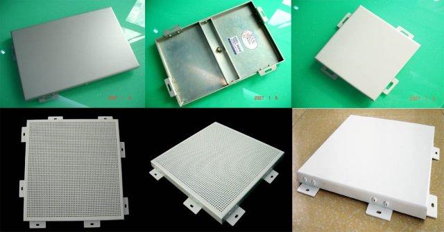 常规有缝铝单板