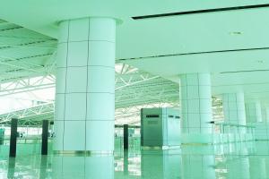 机场包柱铝单板