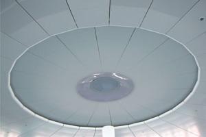 圆形铝单板吊顶