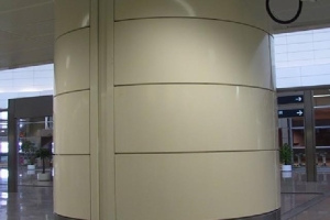 烤瓷包柱铝板