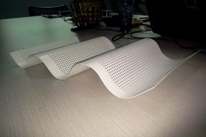 微孔波浪铝板