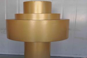 金色柱形铝单板