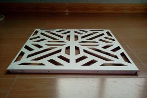 雕刻铝扣板