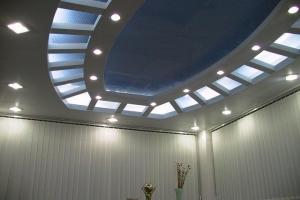 冲孔、平面组合造型灯槽