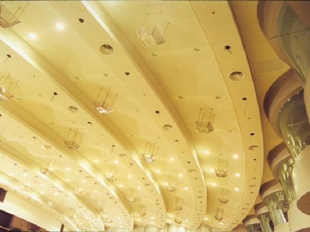 电影院造型铝板吊顶