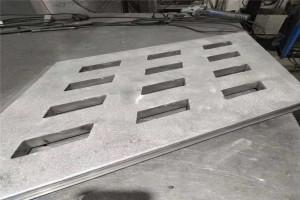 菱形冲孔造型铝单板
