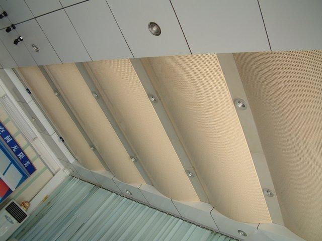 冲孔吊顶铝单板、灯槽