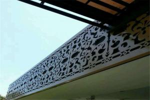 门头雕花铝单板