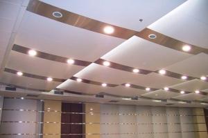 报告厅会议厅吊顶铝板、灯槽