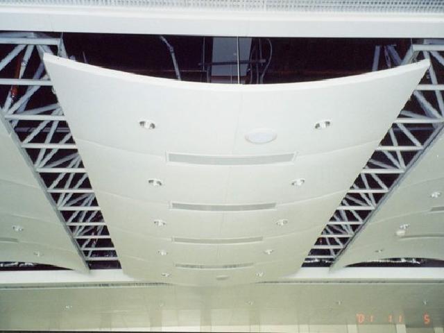 弧形吊顶铝单板