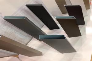 氟碳喷涂铝方管