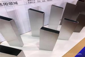银色氟碳铝方管
