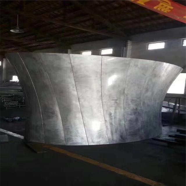 扭曲圆形包柱铝单板