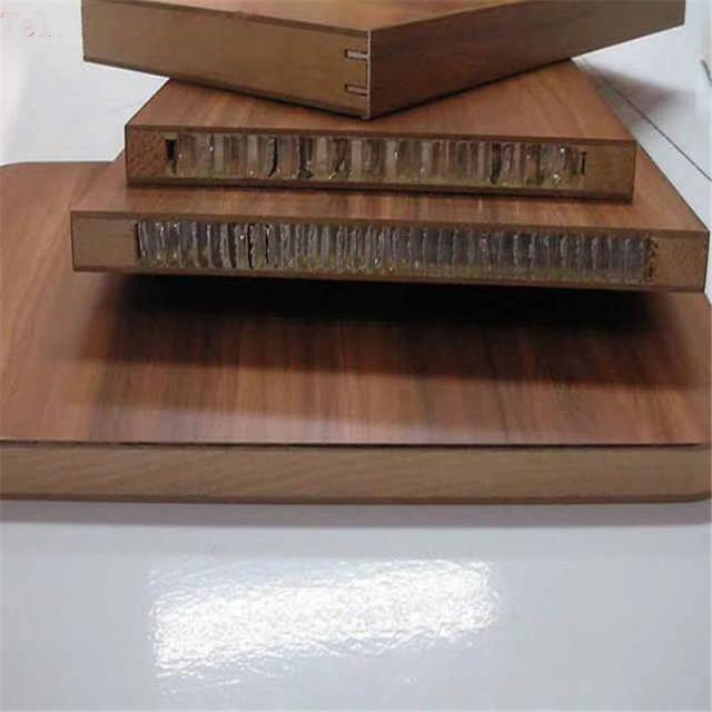 复合防火模板的铝蜂窝隔断