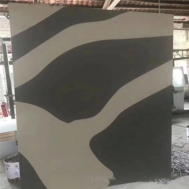 双色花纹氟碳烤漆铝单板