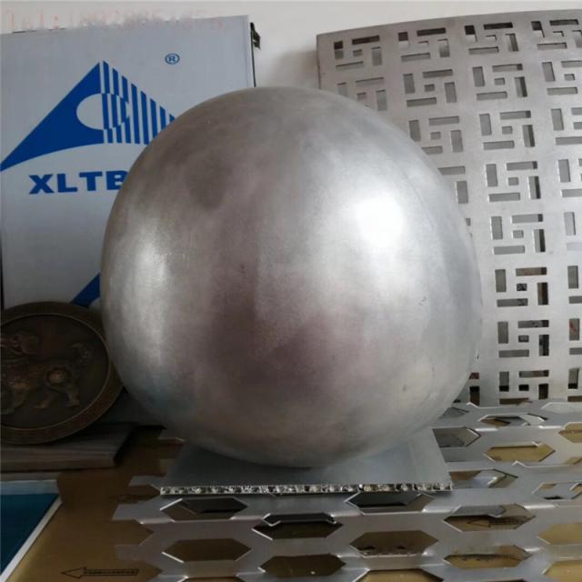 蛋形双曲铝单板工艺品