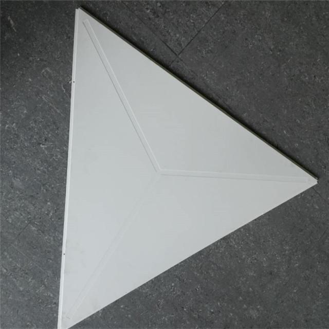 三角形压纹跌级铝扣板