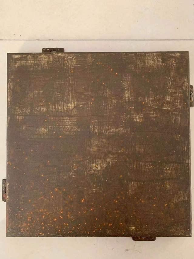 仿泥板做旧铝单板