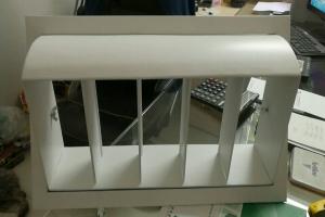 铝合金导流槽出风口
