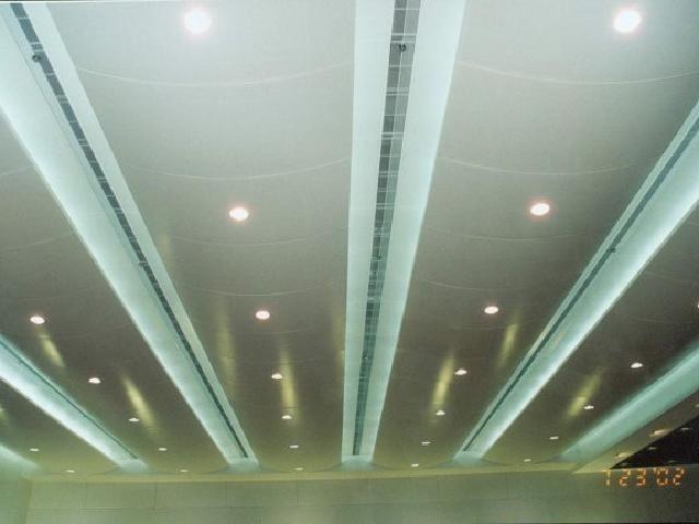 报告厅弧形吊顶铝板