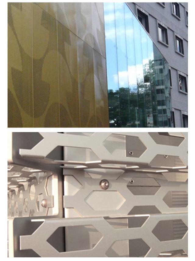 冲孔铝单板样式
