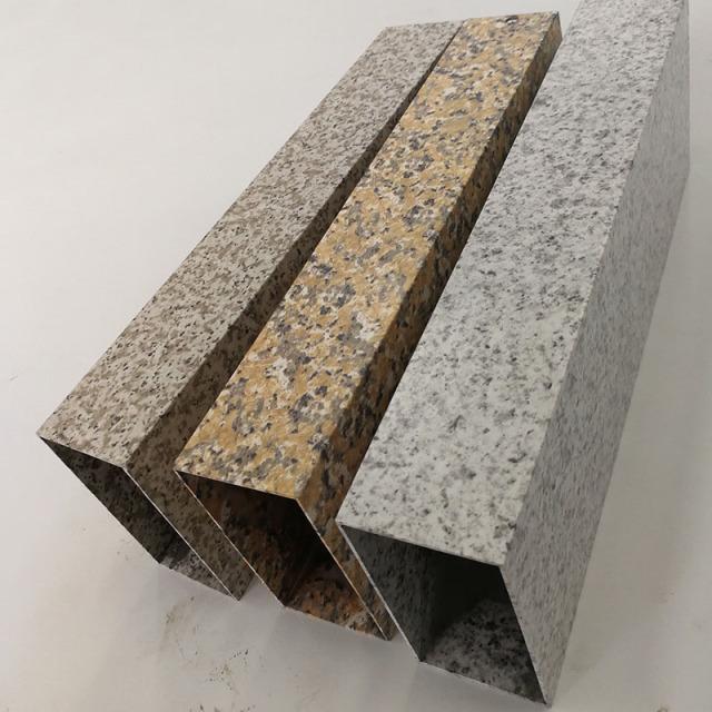 热转印石纹铝方管