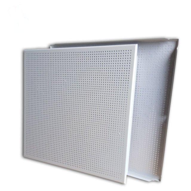 2.3mm直排冲孔铝扣板
