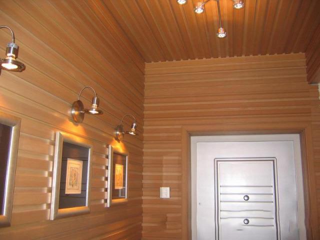 桑拿房墙面凹凸木纹铝单板
