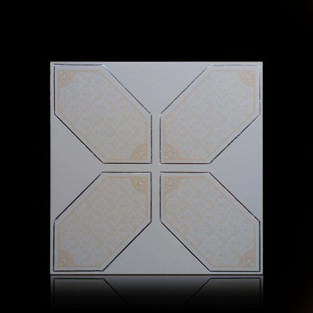 六角形刨花集成吊顶铝扣板
