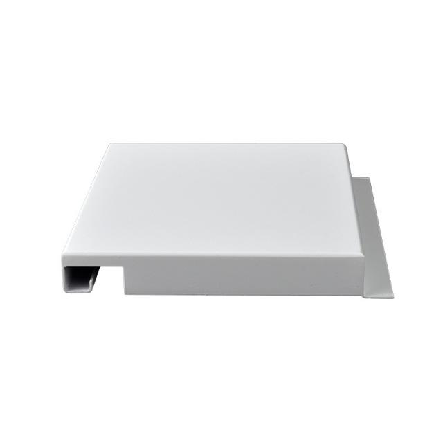 2.0mm厚白色勾搭铝单板