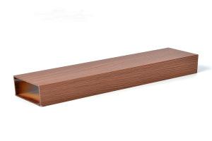 80*60木纹色铝方管