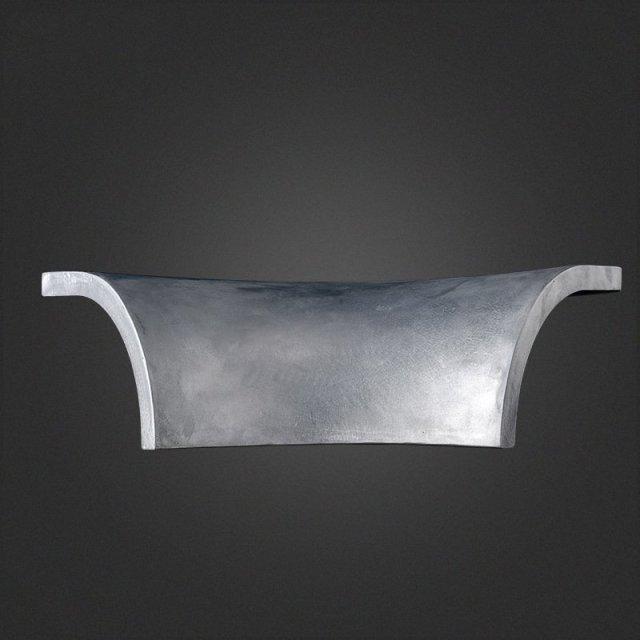喇叭口形双曲铝单板半边板