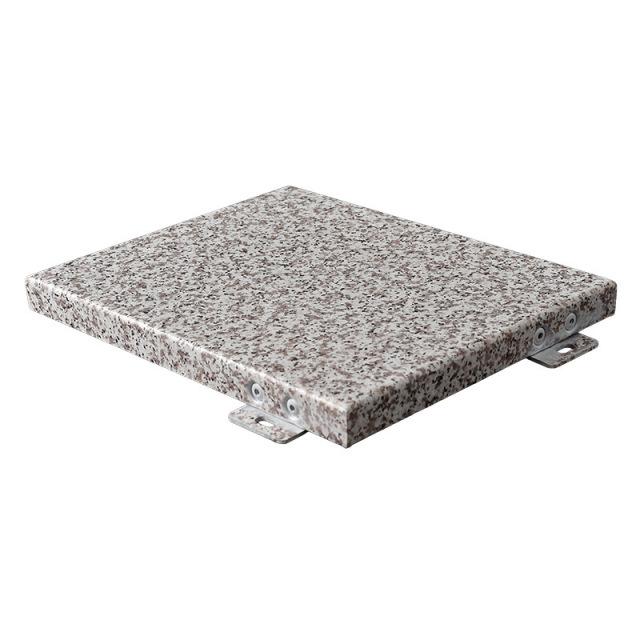 热转印石纹色铝单板