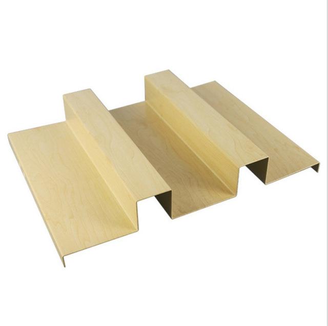 凹凸面长城木纹铝单板