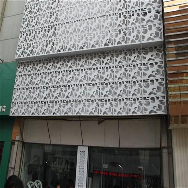 门头镂空雕花铝单板